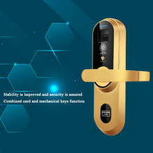 Professional And Safe High Quality Home Smart Outdoor Fingerprint Card Lock CC-SL098G