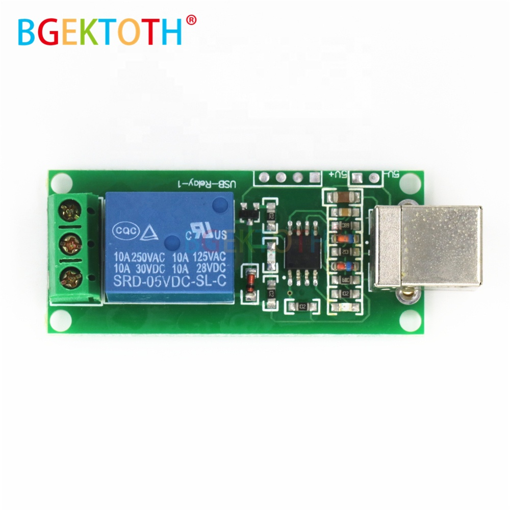 Wholesale New Bit Driver Online Buy Best From China 64 Computer On Module Dc 5v 1 Channel Usb Relay Programmable Pc Smart Control Switch Free Strong