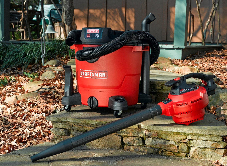 Craftsman 16-gal 6.5-peak hp Wet/Dry Vac with Blower