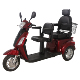 Portable two seats electric bike differential motor scooter electrical used tricycle