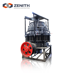 Low investment heavy equipment construction cone crusher gold mining