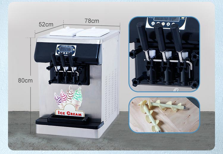 Free shipment DHL express to worldwide taylor hard ice cream machine maker