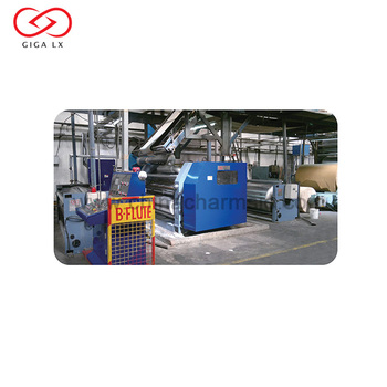 GIGA LX High Speed Corrugated Box Machine Production Line For Paper Board