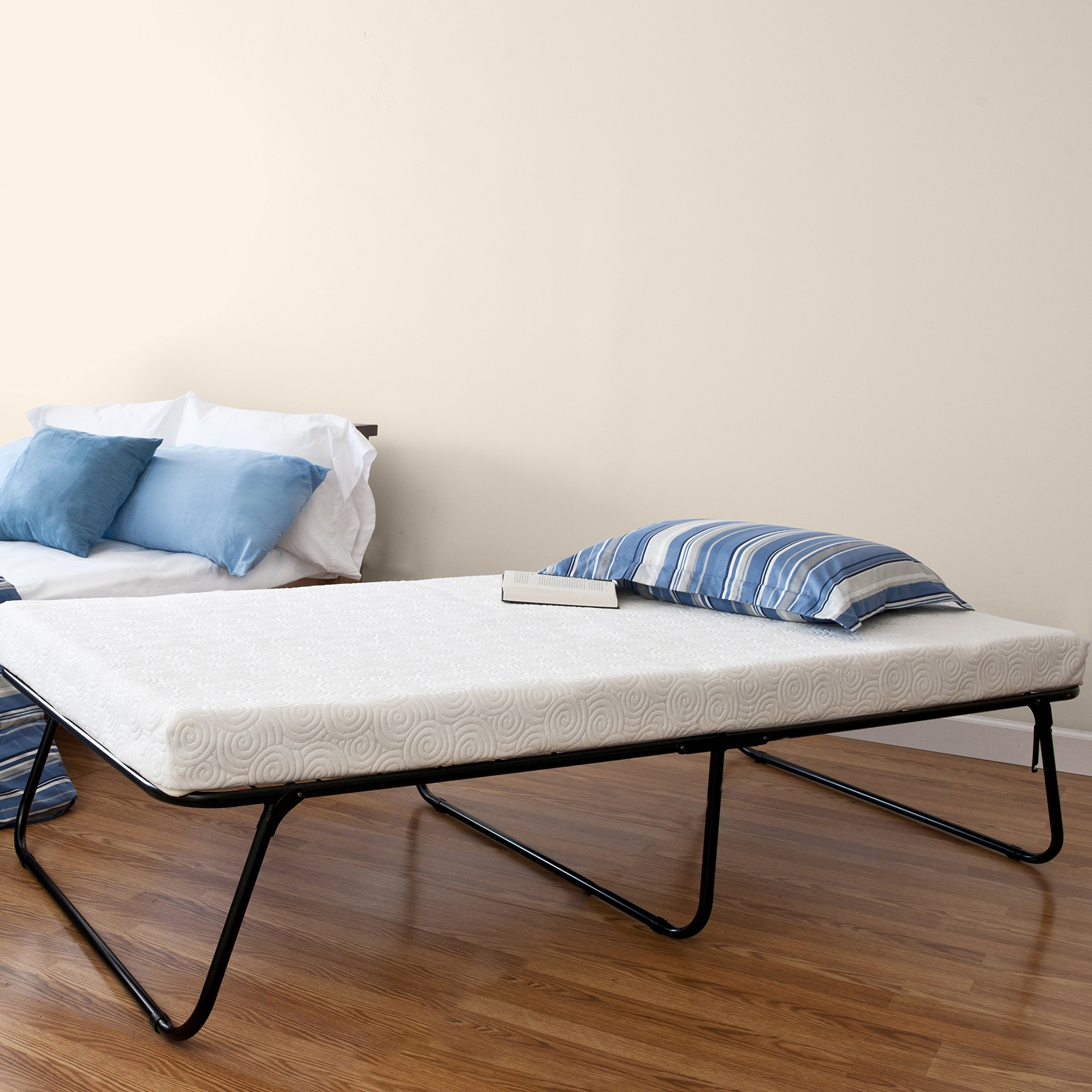 bed be revolution with mattress itm folding new sprung jay tex single j guest pocket