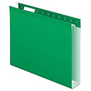 PFX4152X2BGR - Pendaflex Colored Box Bottom Hanging Folder