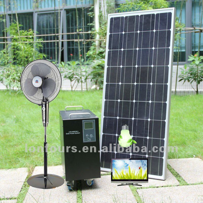 prices for solar panels 100W,200W,300W Solar Panel System Home solar light for indonesia