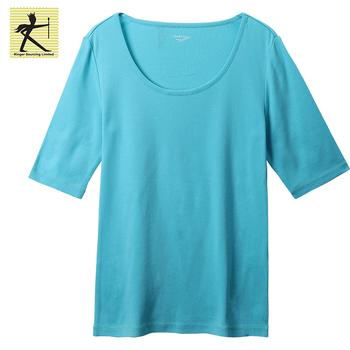19331e5d622a18 2018 fashion garment casual T-shirt 100%cotton clothing blouse lady top  trendy tops