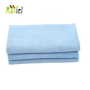 Bulk selling good quality microfiber pearl car cleaning cloth Multi-purpose micro fibre
