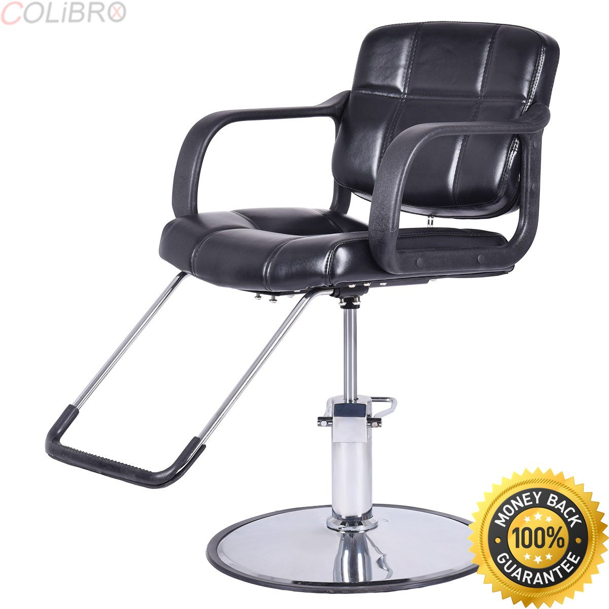 COLIBROX--Classic Hydraulic Barber Chair Salon Beauty Spa Shampoo Hair Styling Shampoo New. shengyu salon chair. heavy duty salon styling chair. plus size salon chairs. salon chairs for tall stylists.