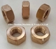 Brass nut big hex nuts m36 m48