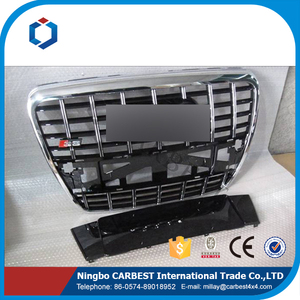 High Quality ABS Front Grille For Audi A6 S6 type B