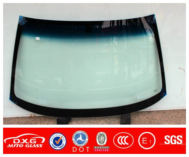 2016 new model green top shape TOUAREG front glass