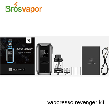 Newest Vaporesso Revenger Kit 220W Multiple system modes Vaporesso Revenger with NRG Tank 5ml/2ml TPD Version