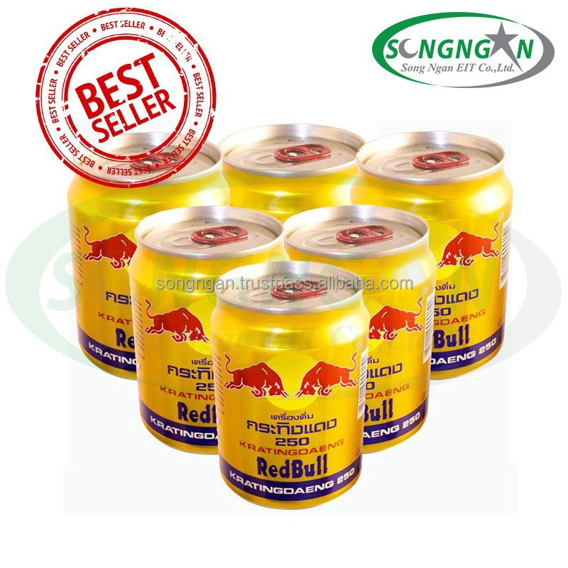 ENERGY DRINK - RED - BU.LL 250ML (CAN)