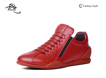 super popular 35a7f b82d5 Roter Sohle Mit Kuh-leder-slip Auf Sneaker Mit  Lederspitze,Herren-sneaker-schuhe Für Den Großhandel,Mode-sneaker Mit Roten  Sohlen - Buy Sneaker ...