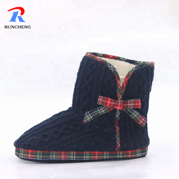 Fleece durable women winter boots wholesale