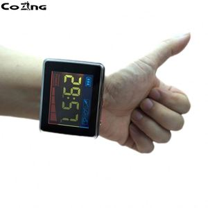 Laser acupuncture therapy lower high blood pressure reduce wrist watch