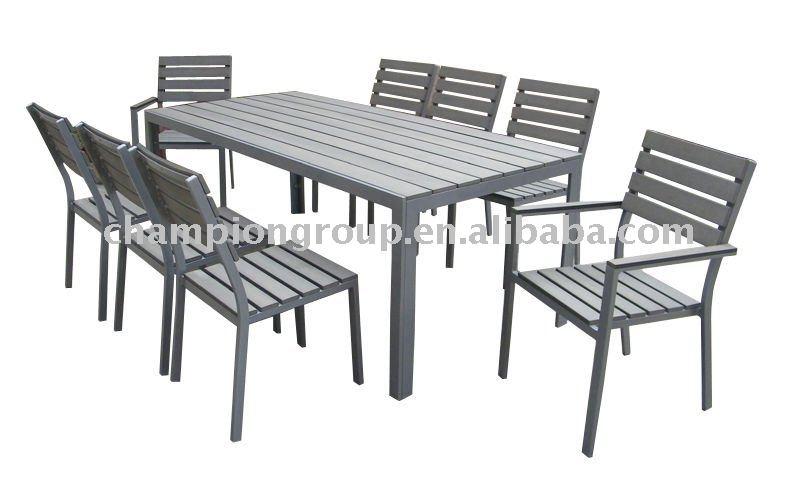 Tavoli Da Giardino In Alluminio.Outdoor Set Da Pranzo Tavolo Da Giardino Alluminio Da Pranzo Insieme