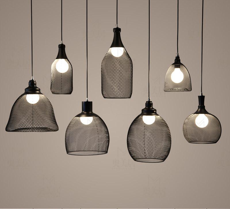eetkamer lamp smeedijzeren stijl industri le kroonluchters
