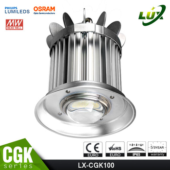 ce rohs listed warehouse industry 200w led high bay light