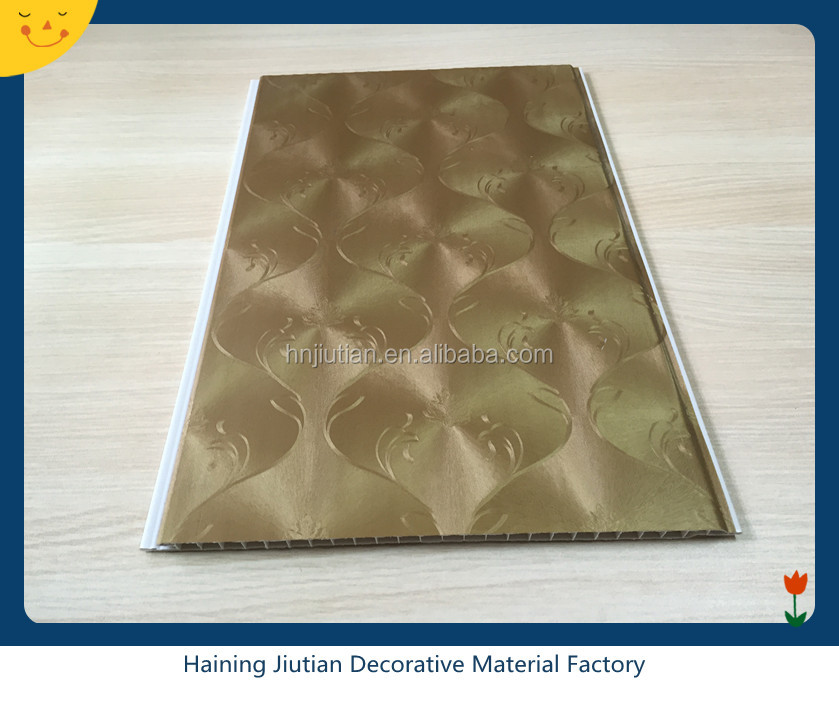 China suppliers false ceiling decorative panels PVC False Ceiling / PVC Ceiling Board / pvc profile