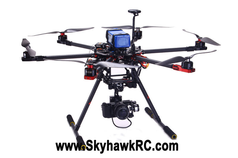 Wholesale Skyhawkrc F750 Hexacopter Rc Cabon Fiber Drone Aerial Photography Uav Drones Professional Aircraft Hobby Multirotor Remote Model Best Radio