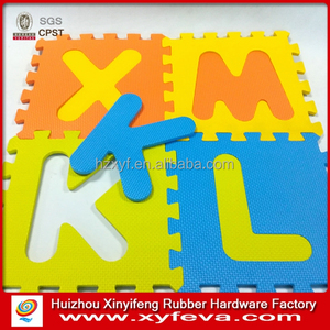 30*30cm EVA Foam Alphabet Letters Floor Mat 3D Puzzle for Kids