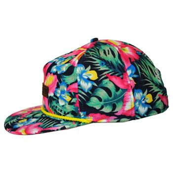 High Quality Satin Sublimation Patch Hat Custom Rope Bill Embroidered  Custom 5 Panel Snapbacks Caps 01a2310d227c