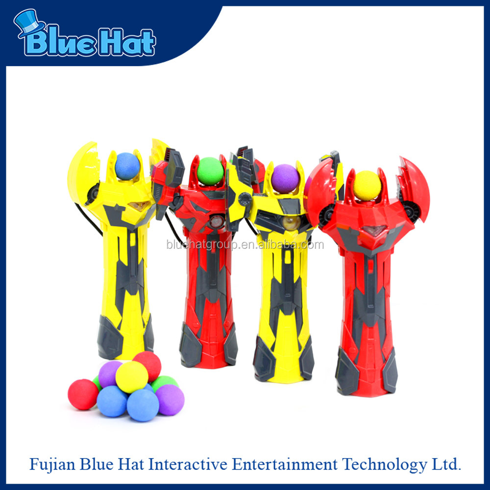 Wholesale latest catapult toy slingshot with soft foam balls