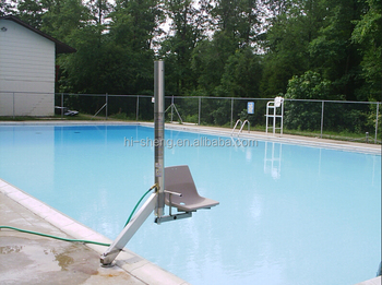 pool lift with chair buy handicap pool lift hydraulic chair lift