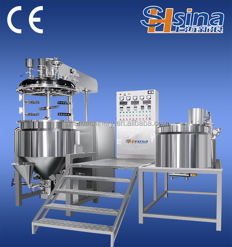 China supplier vacuum emulsifying machine for small business