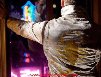 Scorpione Giacca In giacca Giacca film Buy Drive Raso FWUSwdBdqa