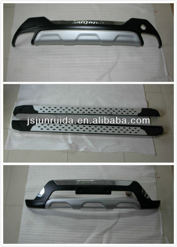 guards for hyundai santa fe 2013 hyundai santa fe front bumper guard