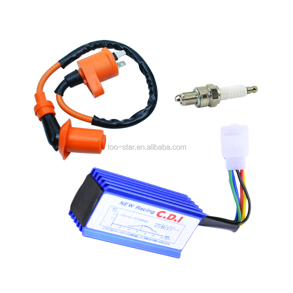 Super Coil Ignition High Spark Plug Wire For Honda XR50 CRF50 Dirt Pit Bike Motorcycle