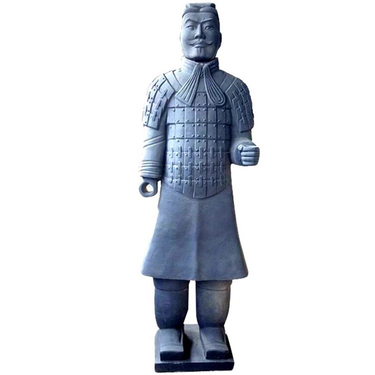 Antique xi'an warriors Chinese terracotta army of Qin dynasty solders bronze statue