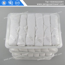 Uzbekistan Airways 100 cotton aviation towel disposable factory sales made in china supplier