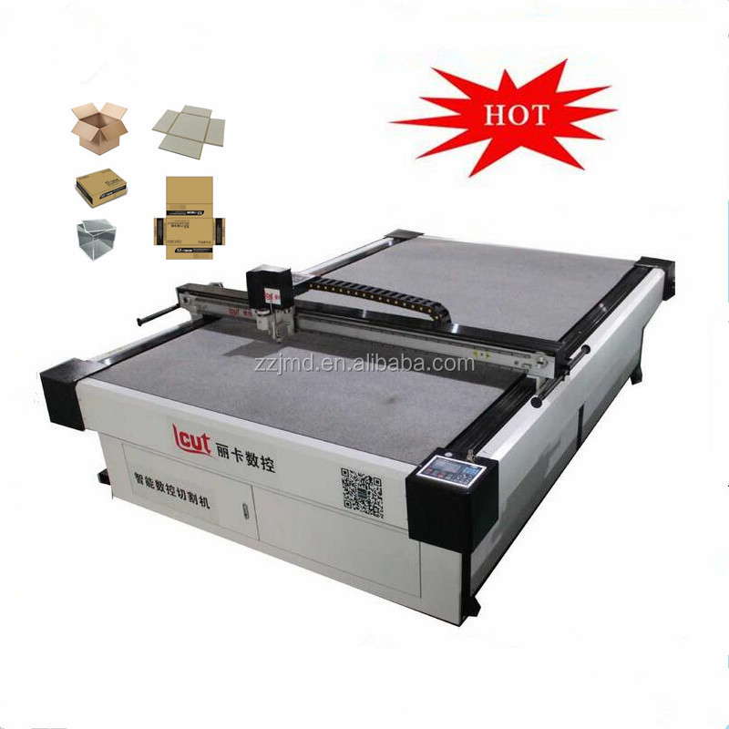 Vibrating Knife flatbed cutting machine /corrugated cardboard cutter plotter