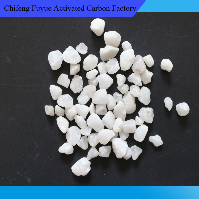 Manufacturer quality white quartz sand with for refractory raw material