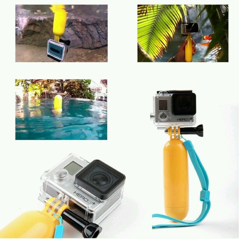 forGopro Accessories Bobber Floating Floaty Handheld Stick Tripod Accessories for Action Camera Yi GP81