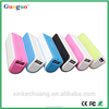 Guoguo colorful LED portable mobile power bank 2600mah for all cellphones
