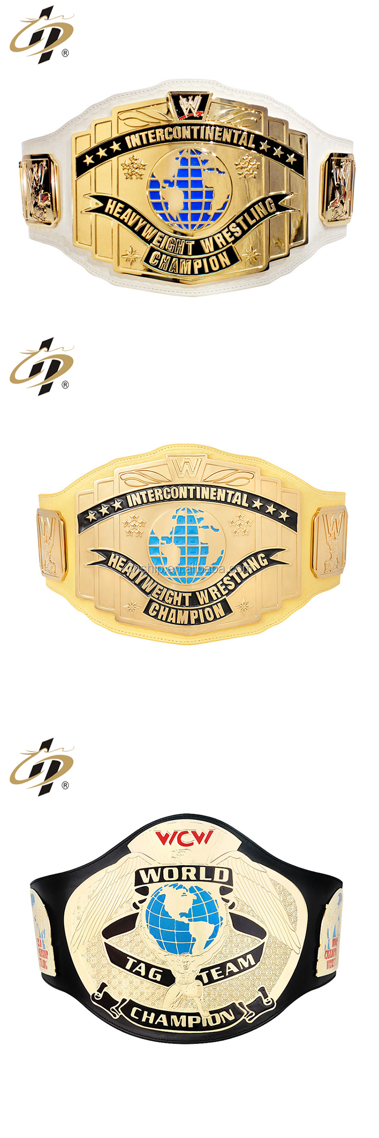 World Tag Team Championship Wrestling Strong Leather Gold Belt