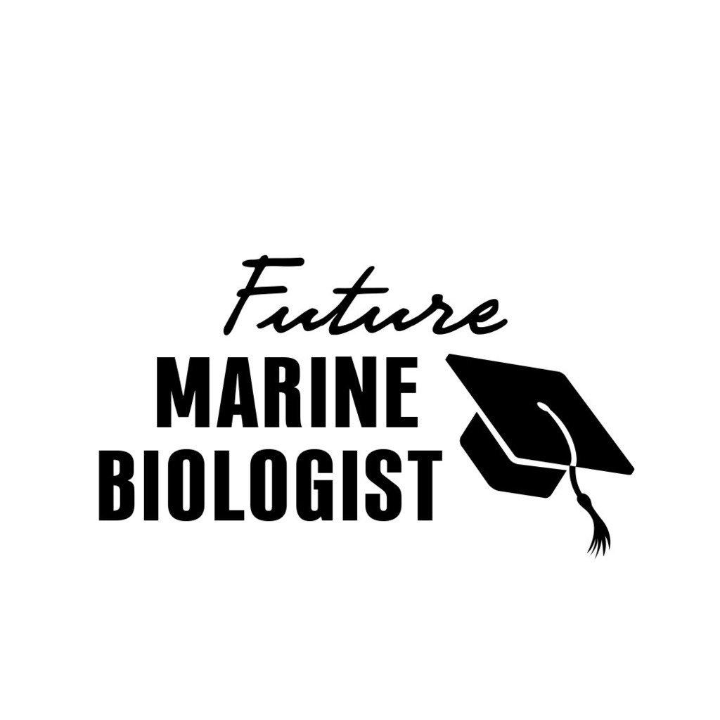 ShirtMania FUTURE MARINE BIOLOGIST Career Occupation Car Laptop Wall Sticker
