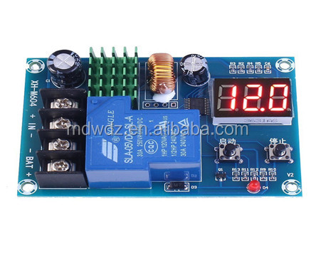 Battery Charge Controller Switch DC 6V-60V Battery Board for Lead Acid Battery and Lithium Battery