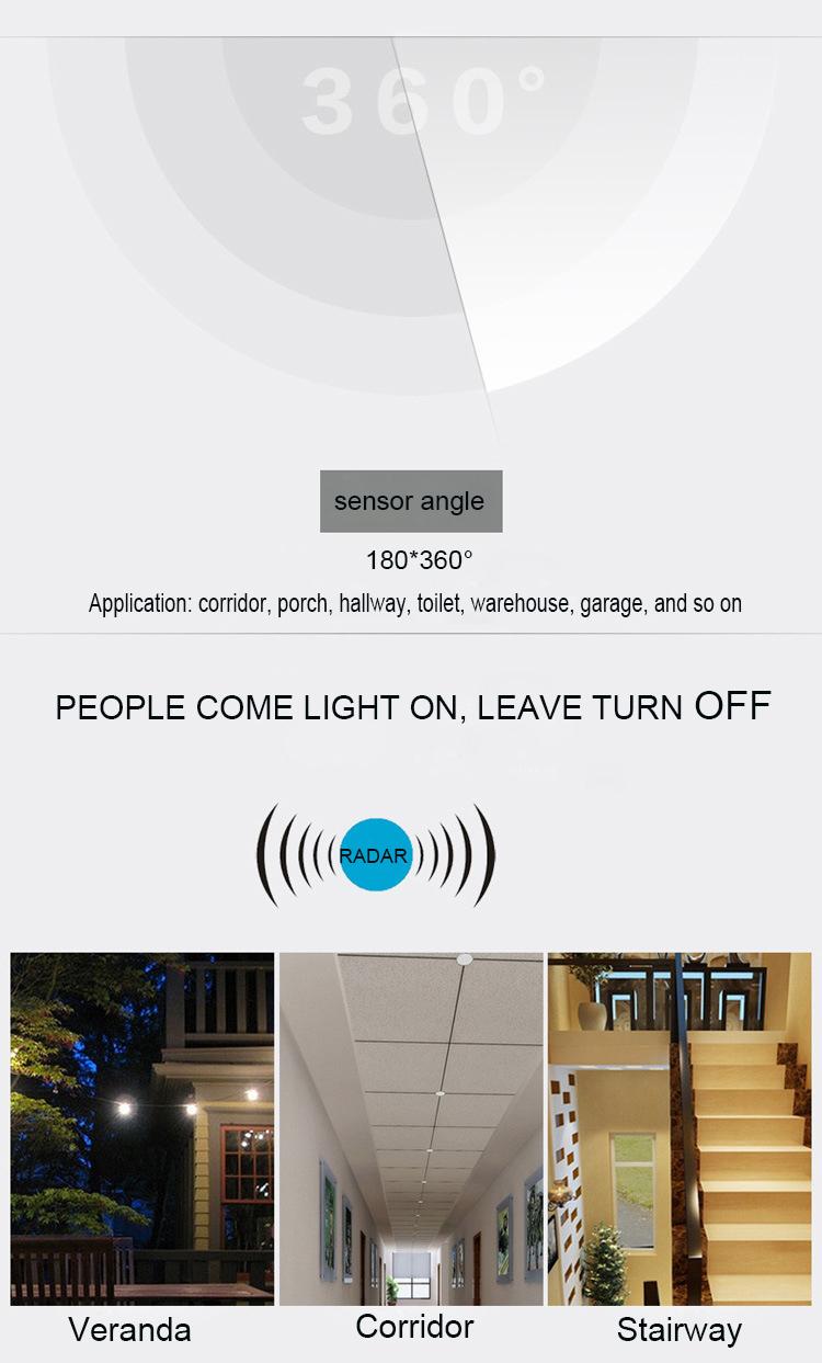 Hot Selling Driver 360 Degree Micro Motion Sensor Driver For Led ...
