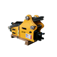 SB20 road construction equipment side type excavator hydraulic hammer rock stone breaker