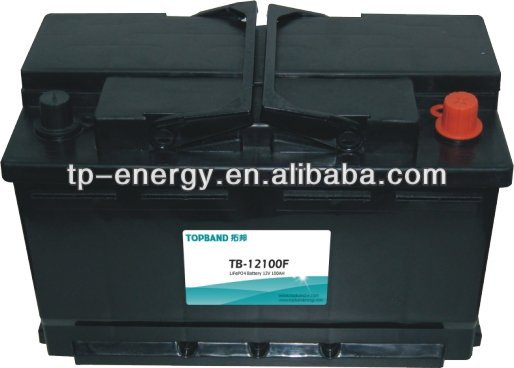 100ah/150ah lifepo4 battery 12v with alligator clip TB-12100F China Manufacturer (2 years Warranty)