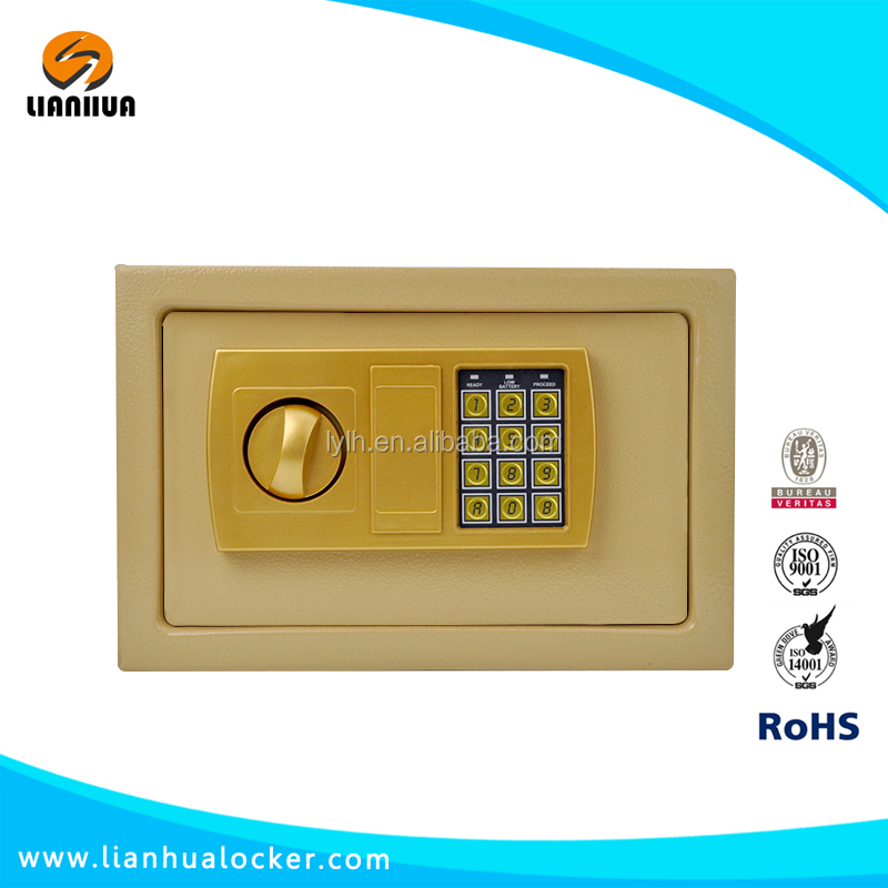 Home office used small digital electronic safe locker