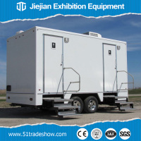 Luxury VIP Mobile Portable Trailer Toilet Manufacturer