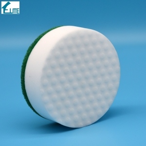 China Wholesale compressed magic eraser/ compressed cleaning wave sponge/ composite pu melamine
