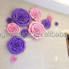 Giant Paper Flower Wall Backdrop Decoration